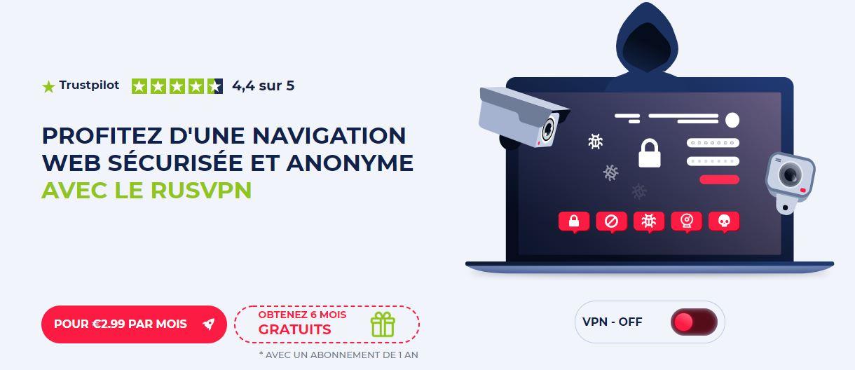 Profitez d'une navigation web sécurisée et anonyme